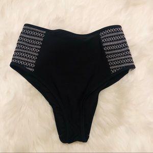 Aerie high waist bikini bottoms size Small. NWOT